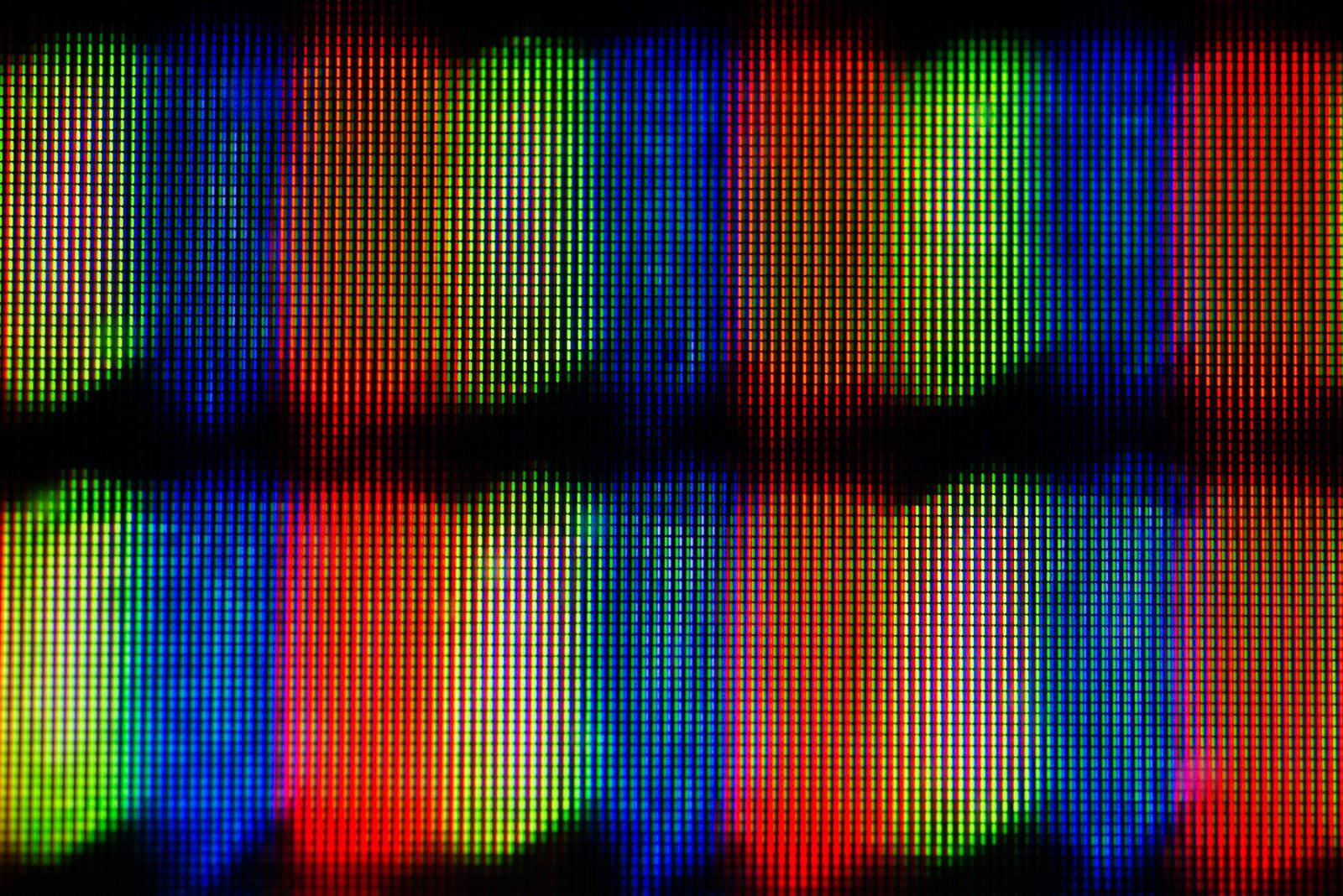 RGB Pixel Field Four.