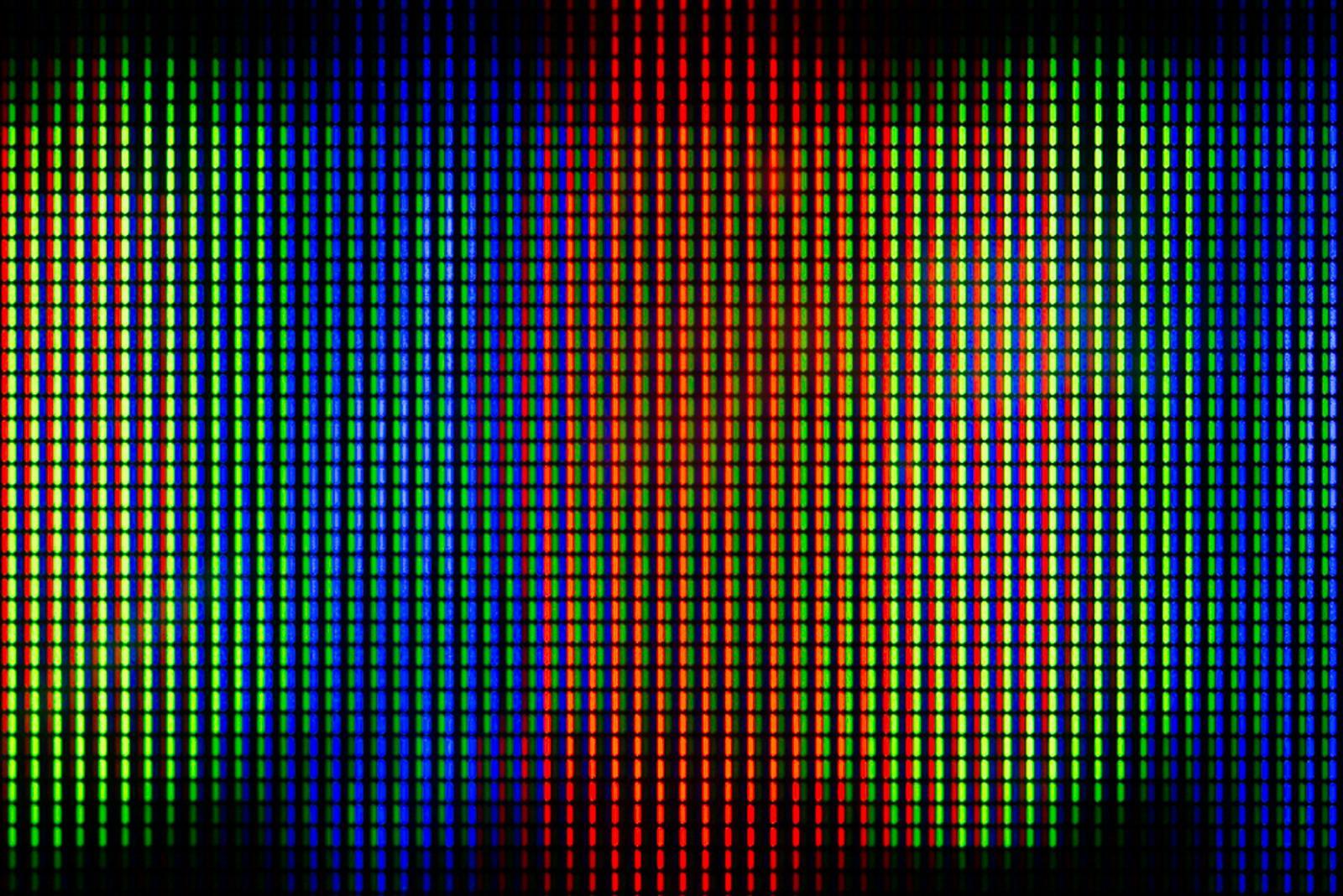 RGB Pixel Field Five.