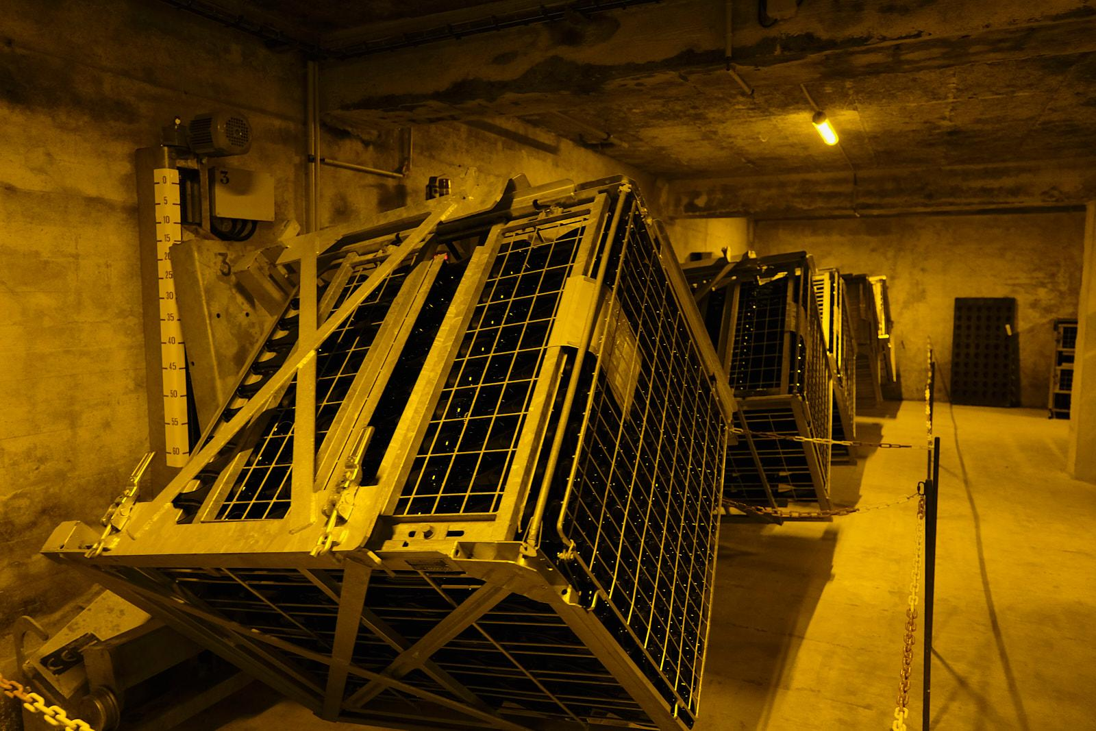The cellar of the Vazart-Coquart champagne house in Chouilly