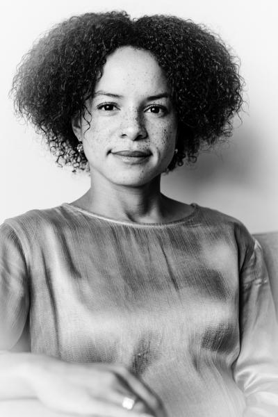 European Parliament member  Samira Rafaela is Dutch politician, portrayed for a newspaper. Member of Democraten 66 (D66) and Young Democrats.