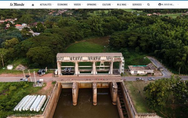 LE MONDE : Mekong River in Crisis