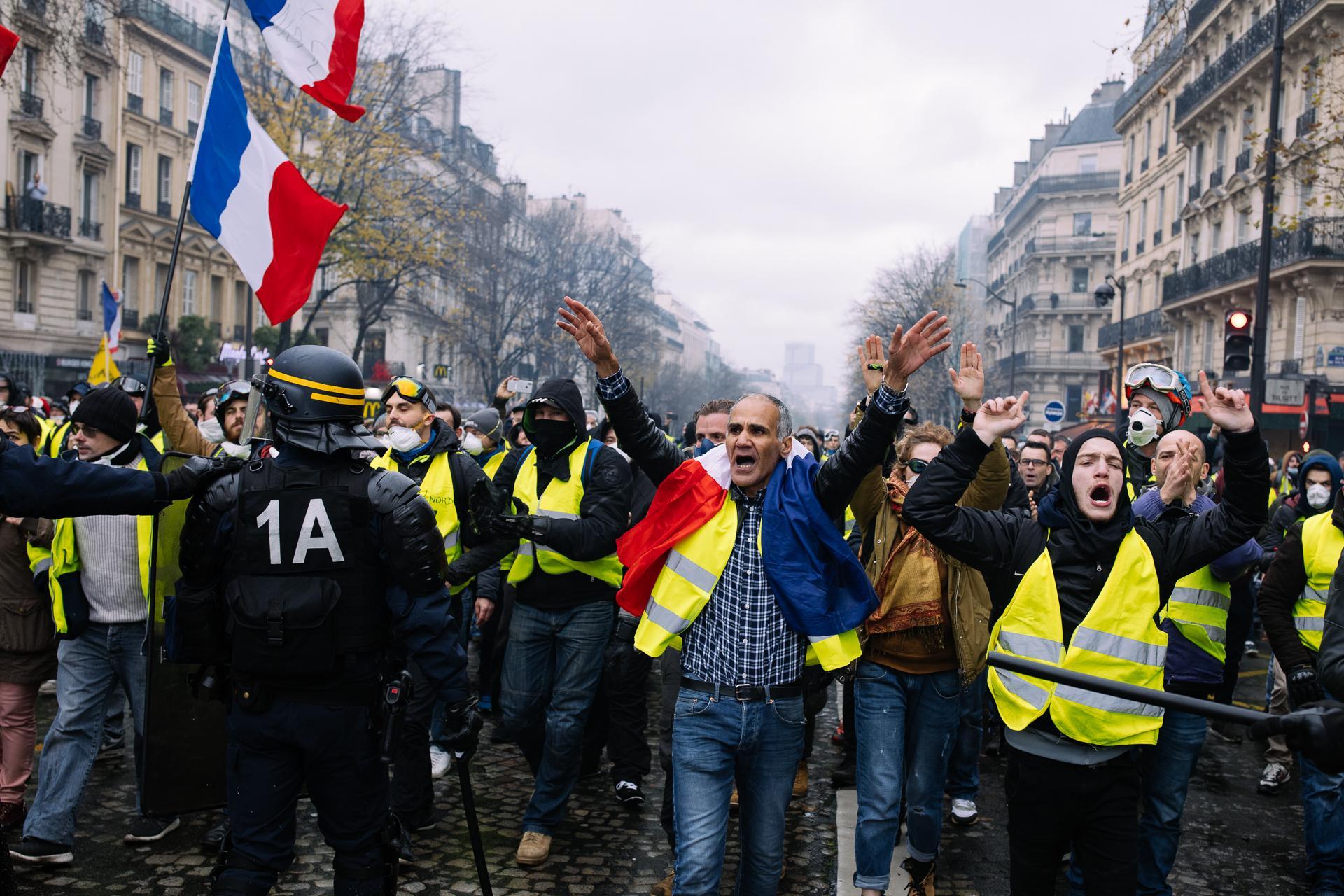 Paris, 1 décembre 2018 / Acte III