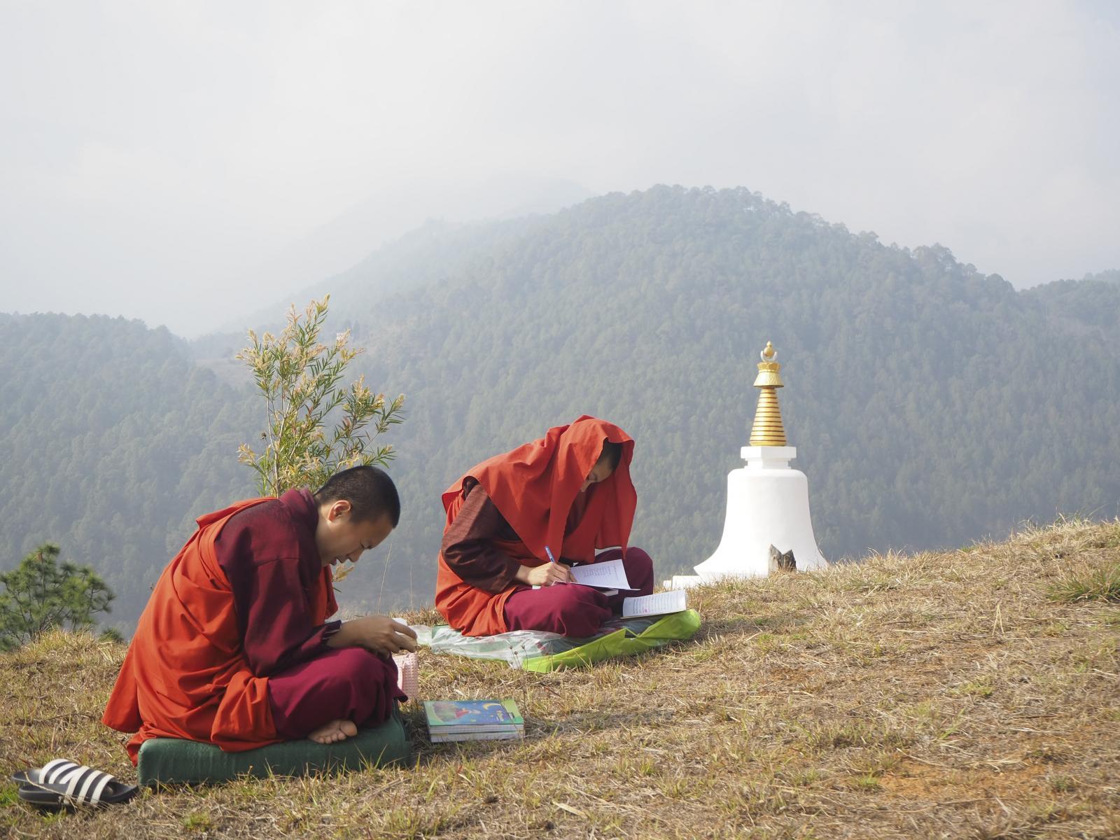 Thimpu, Bhutan. Sangay Thinley Tenzing