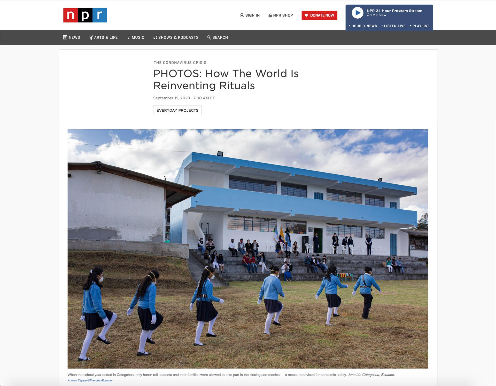 Art and Documentary Photography - Loading npr_news.jpg