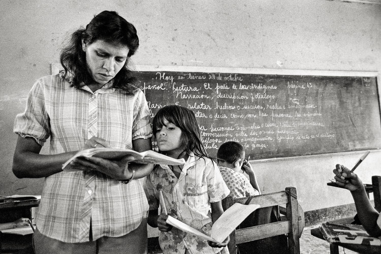 Elementary school, Jinotega, Nicaragua.