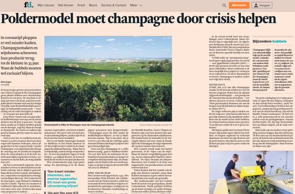Financiele Dagblad, The Netherlands