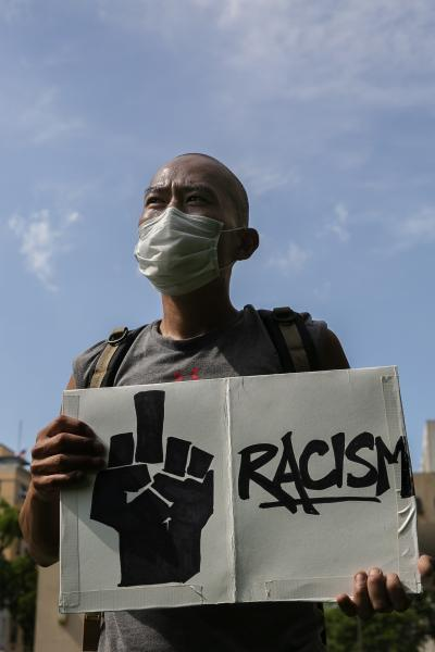 """""""You are not alone"""": The Asian and Black bond during the Black Lives Matter protests"""