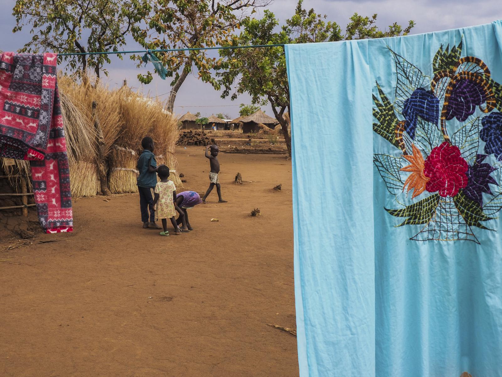 Bidi Bidi Refugee Settlement, Uganda. Eva Araba