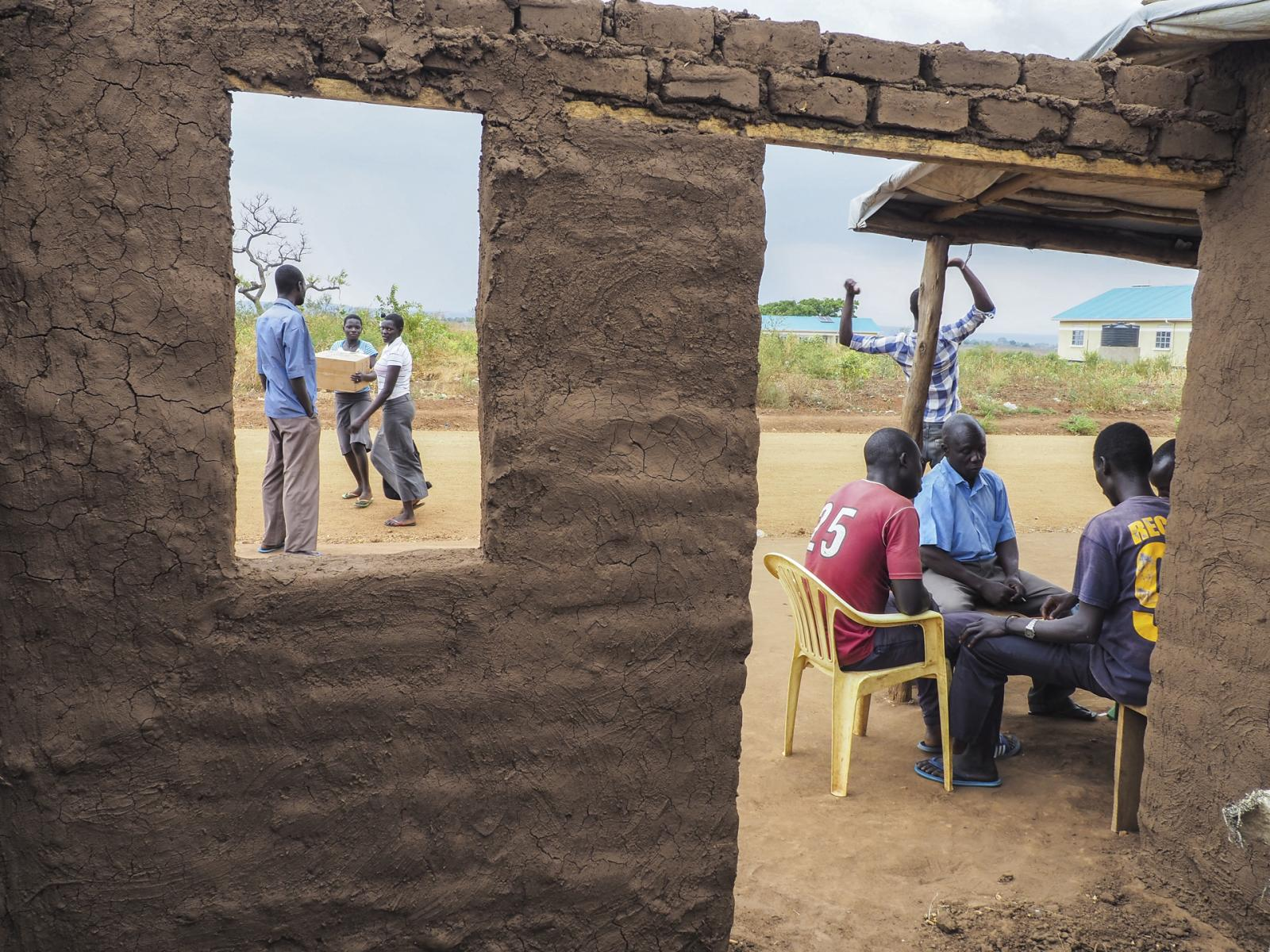 Bidi Bidi Refugee Settlement, Uganda. Joseph Yengatu