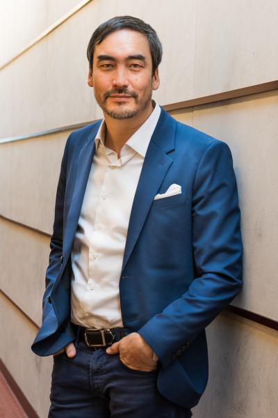 El profesor y autor Timothy Wu en su oficina en Columbia University. Marzo 12 de 2020. Ciudad de Nueva York.