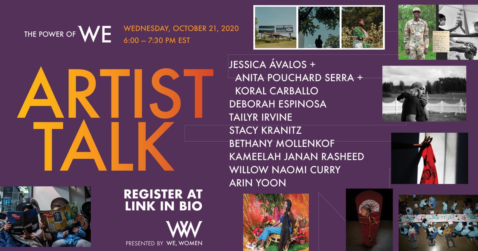 Photography image - Loading WW_Artist_Talk_Oct._21_-_Horizontal_-_Resize.JPG
