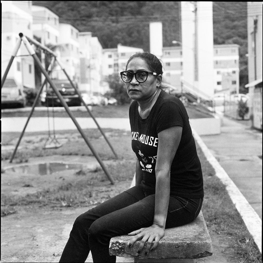 Conceicao Queiroz Silva 47 is a nanny who lived in Vila Autodromo for 25 years, she now lives alone in Parque Carioca, after having gone trough a divorce due to the stess caused by the removal from her previous community.