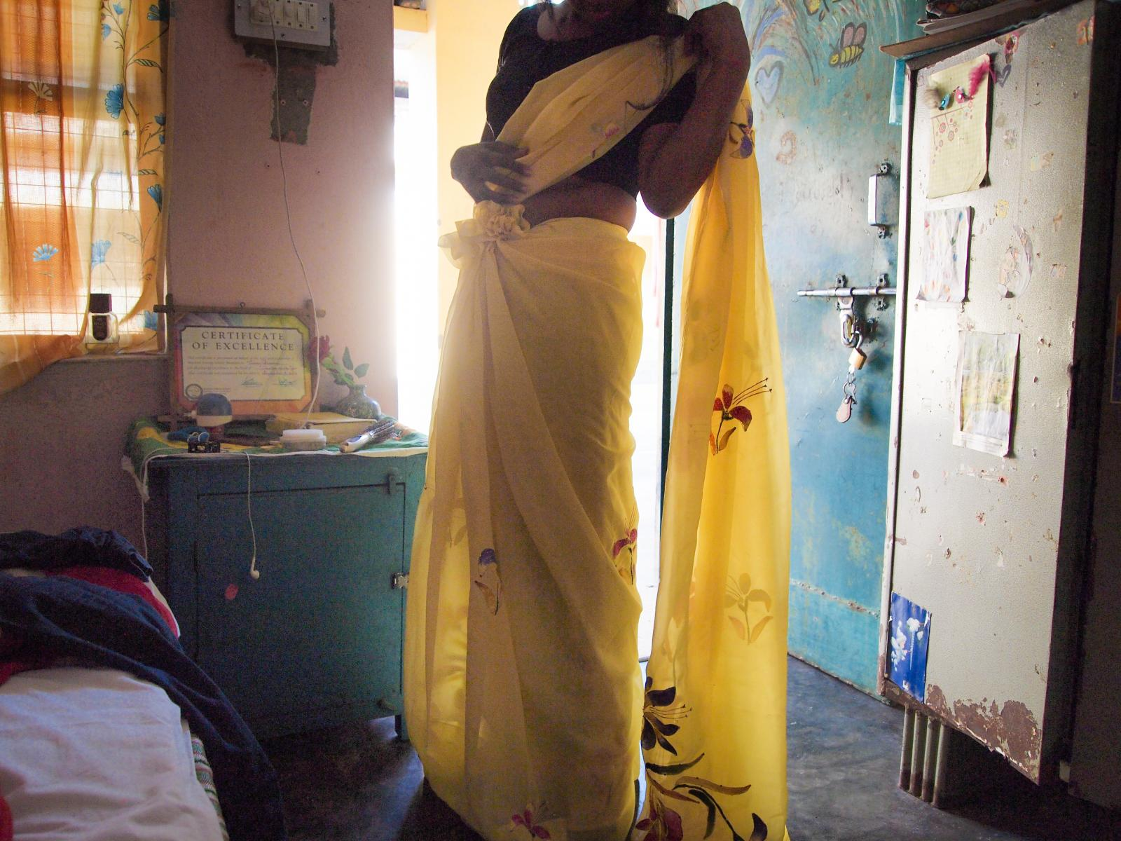 Banbasa, India. Anthea Ram