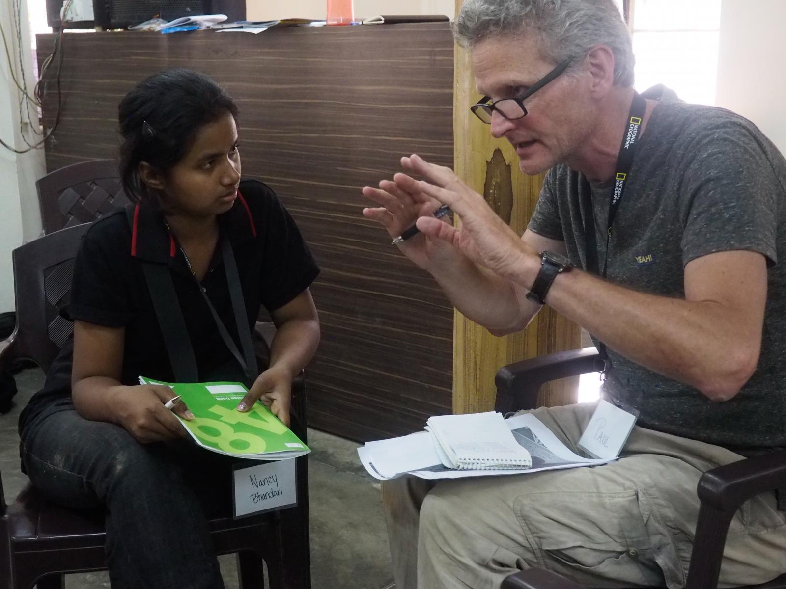 Banbasa, India. Kirsten Elstner