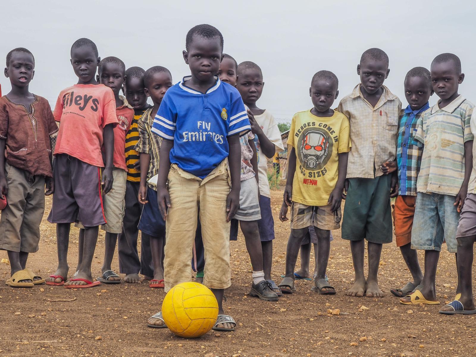Bidi Bidi Refugee Settlement, Uganda. Augustino Sebit