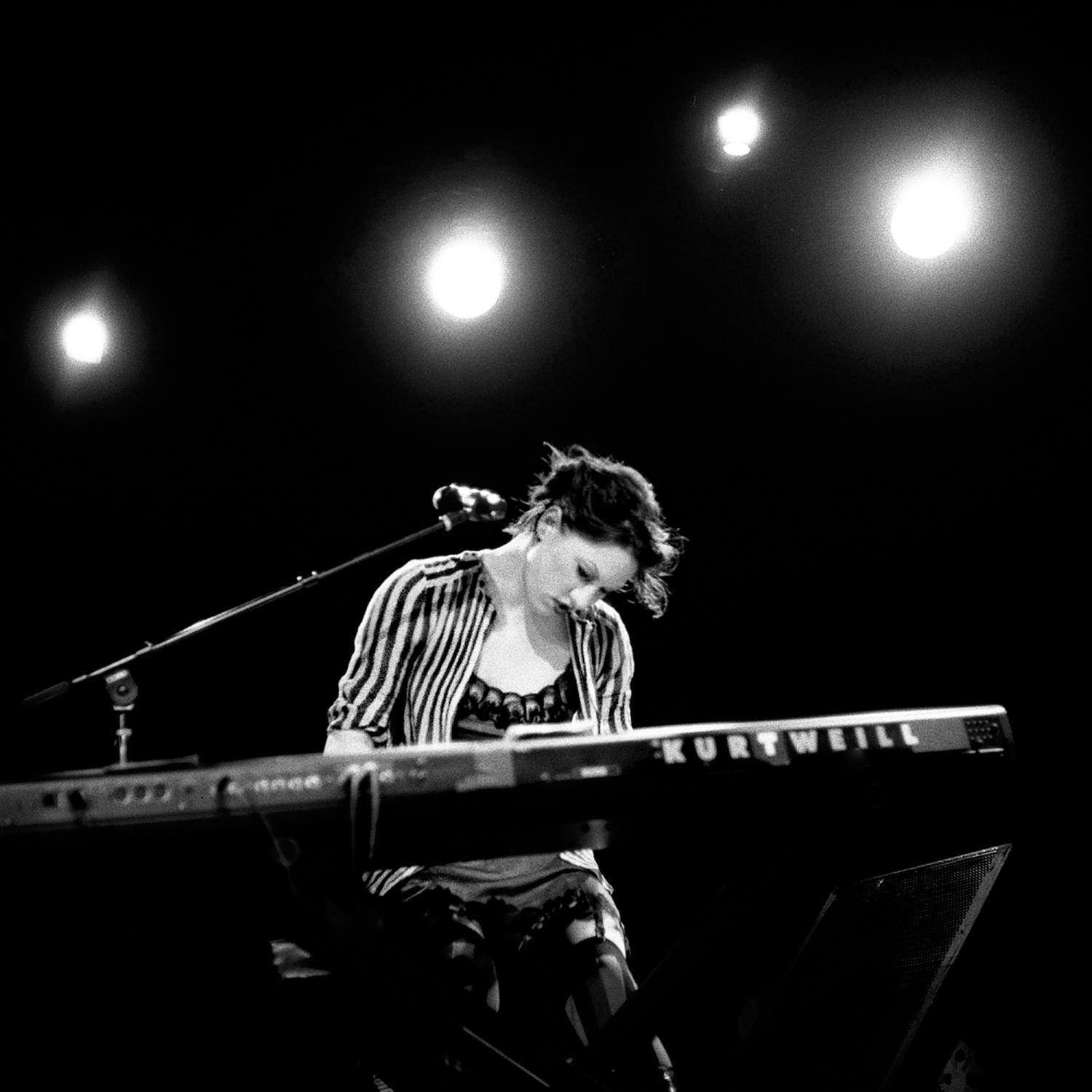 Amanda Palmer performs her music at The Paradise rock club in Boston Massachusetts. Commissioned by the artist's management.
