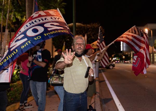 Miami Protest at Versailles