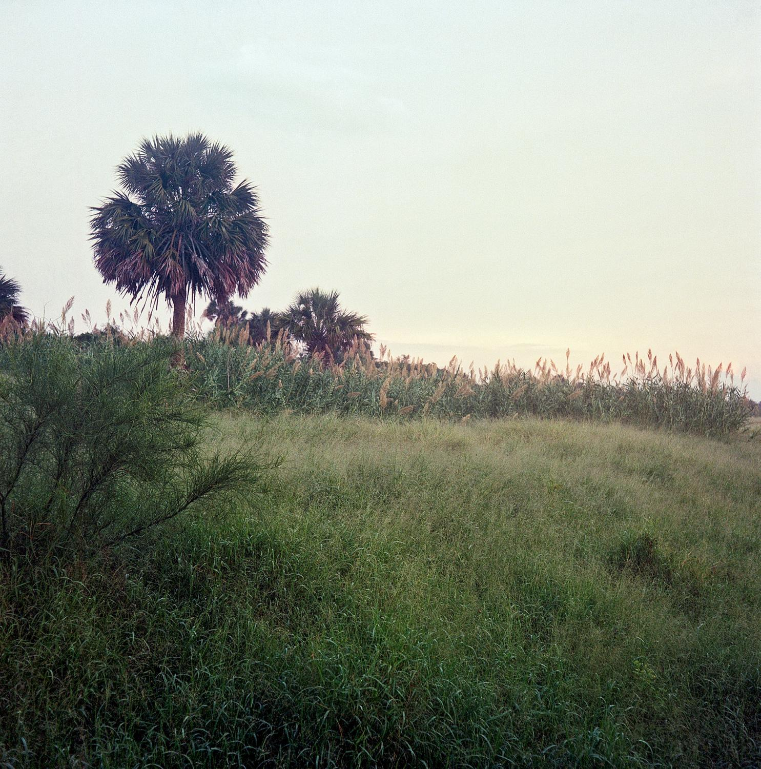 Brownsville, TX - OCTOBER 16, 2020: Landscape at the U.S.-Mexico border.