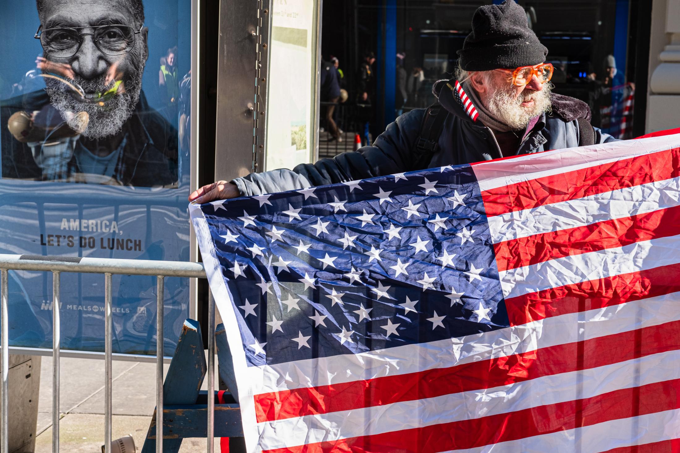 New York City, NY. November 11, 2018. Veteran's Day Parade - . Credit: Andres Guerrero
