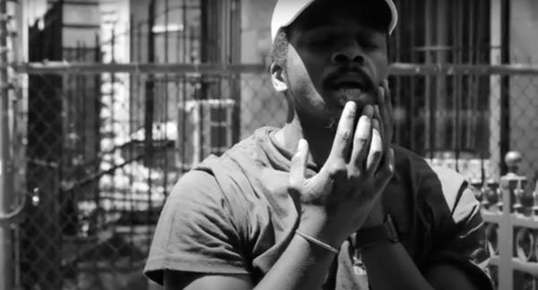 Portrait of a Black Male Artist in June 2020