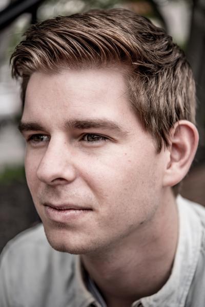 Ryan Kelly, Head of Marketing and Communications at Virgin Hyperloop One. ©AJ Chavar