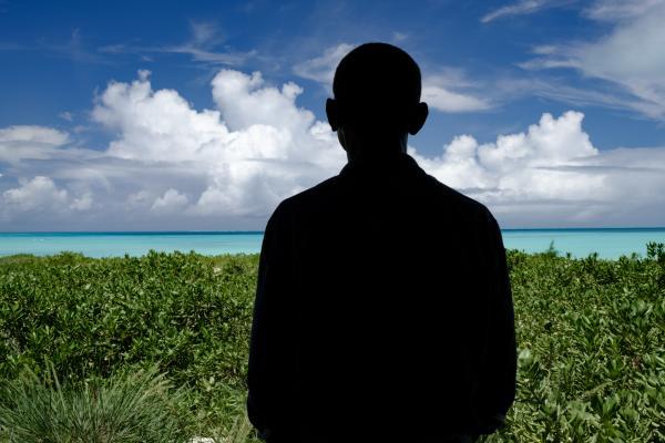Barack Obama visits the newly expanded Papahanaumokuakea Marine National Monument at Midway Atoll. AJ Chavar / The New York Times