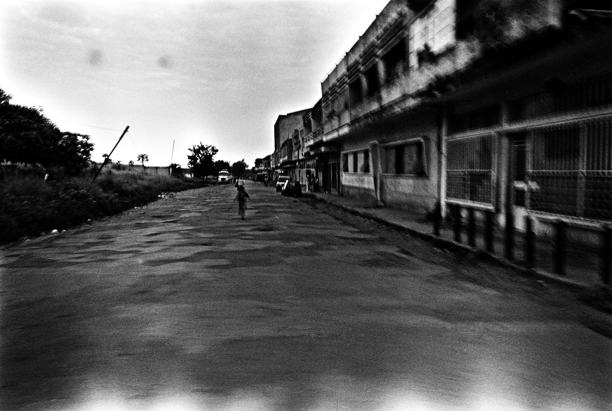 ANGOLA Malanje View of Malange.