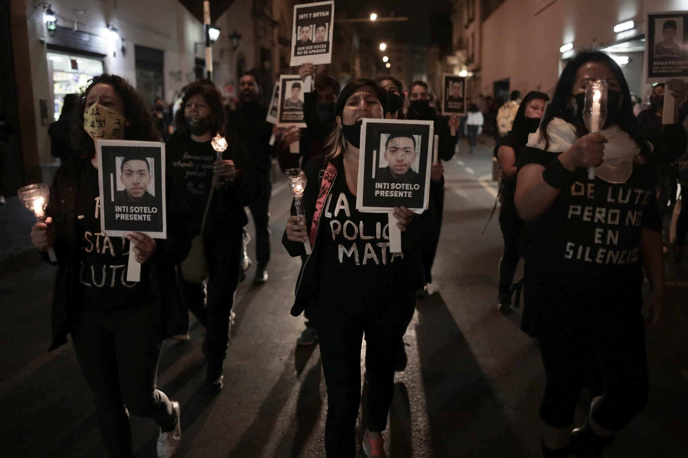 El sábado 14 de noviembre, Jordan Inti Sotelo Camargo (24) y Jack Bryan Pintado Sánchez (22) fallecieron a causa de la represión policial de la marcha nacional. Los certificados de necropsia describe brutales impactos de proyectiles por armas de fuego sobre sus cuerpos.