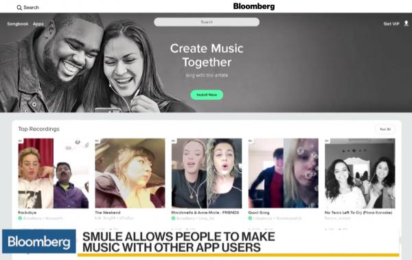 Smule, Inc. / Branding photos for their Sing and social music apps