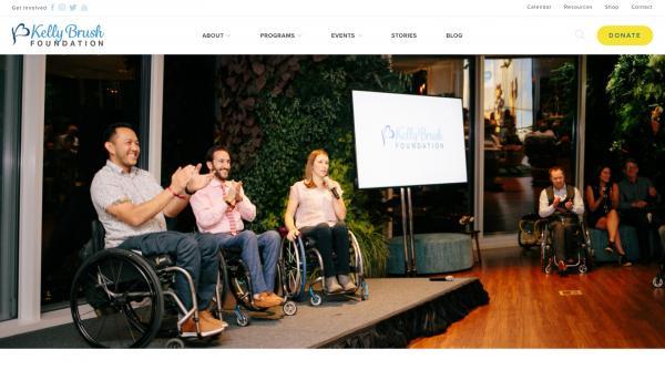 Kelley Brush Foundation / Branding content