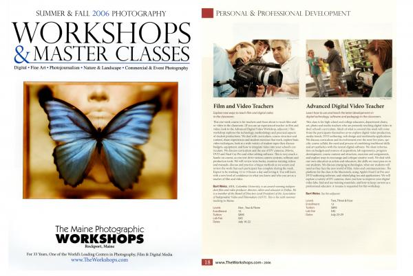 Maine Media Workshops / Branding and marketing content