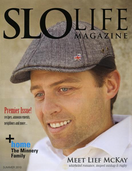 SLO Life Magazine / Cover story
