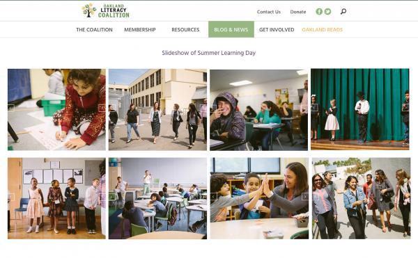 Oakland Literacy Coalition / Branding