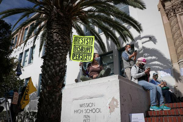 Democracy March SF