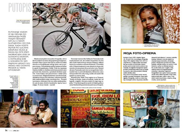Re Foto, April 2011 issue