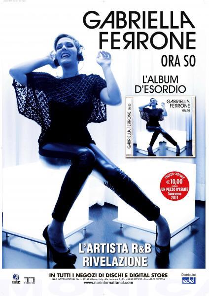 ALBUM COVER GABRIELLA FERRONE   Client:   Agency: