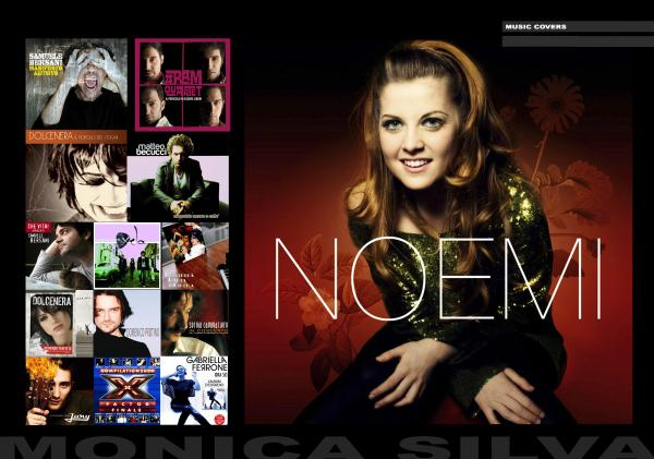 NOEMI ALBUM COVER Client: SONY MUSIC Agency:  Producer: