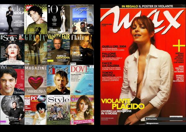 MAGAZINES COVER AND EDITORIAL   Client: VARIOUS   Agency: