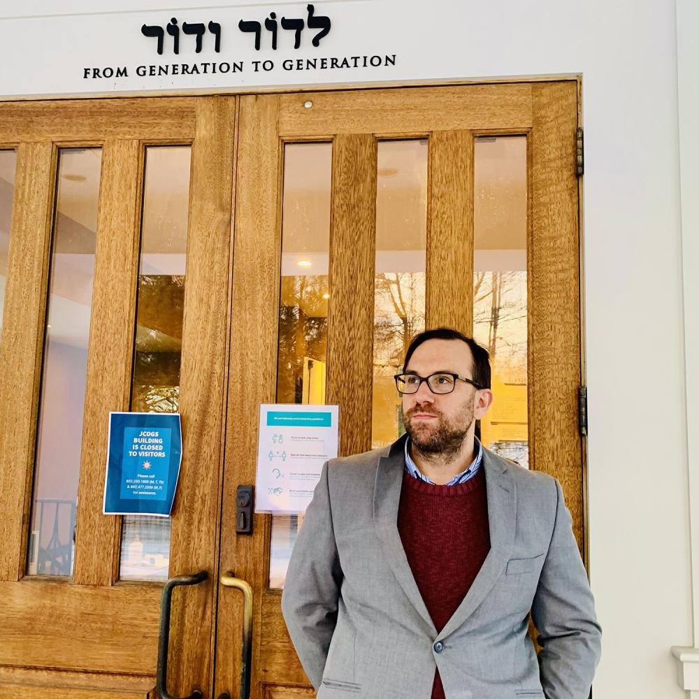 Photography image - Loading RabbiDavidportrait.jpg