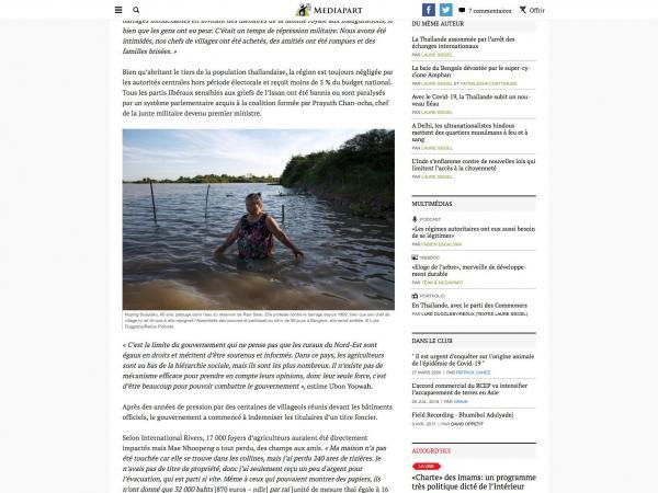 Client: Mediapart - France  Published: December 2020