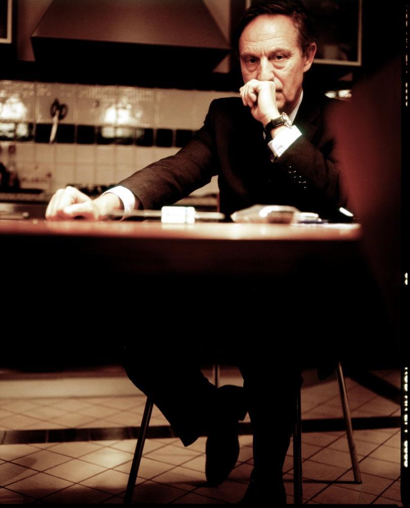 WARSAW, POLAND, FEBRUARY 2, 2012:.Jan Kulczyk, Polish businessman and the richest man in Poland according to Forbes magazine, posing at Kulczyk Investments office in Warsaw..(Photo by Piotr Malecki / Forbes / Napo Images)..Jan Kulczyk , biznesmen..Warszawa, Biuro Kulczyk Investements, 02/02/2012.Piotr Malecki / Forbes / Napo Images.