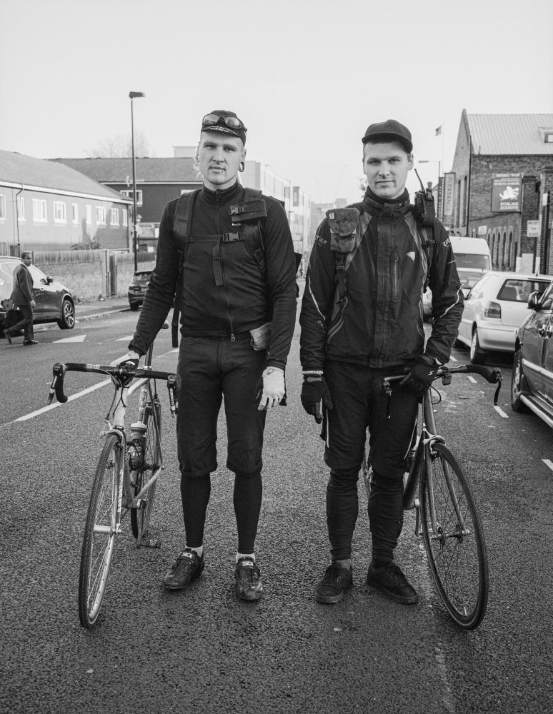 Jordan and Justin, Islington, 2015