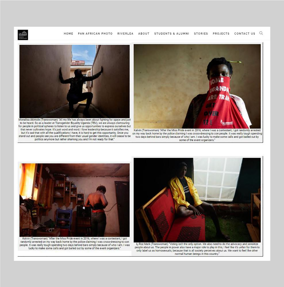 'We Are Human' - The Market Photo Workshop/PhotoForm Africa , December 2020