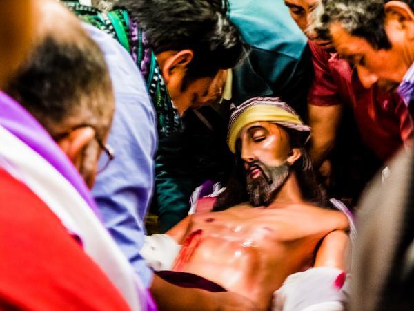 Holy Week in Santiago de Atitlan