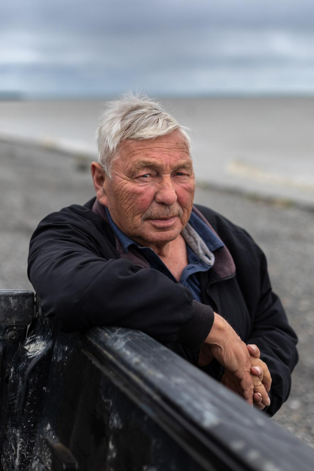 "Robin Samuelsen, a lifelong fisherman and Curyung tribal chief whose family has commercial fished in Dillingham, Alaska for five generations. ""You can't eat gold,"" he says. ""We have the richest salmon waters in the world here. This commercial fishery is 135 years old, and 50 million sockeye came back this year. The people of Bristol Bay, whether I'm here or not, are going to continue to fight Pebble Mine."""
