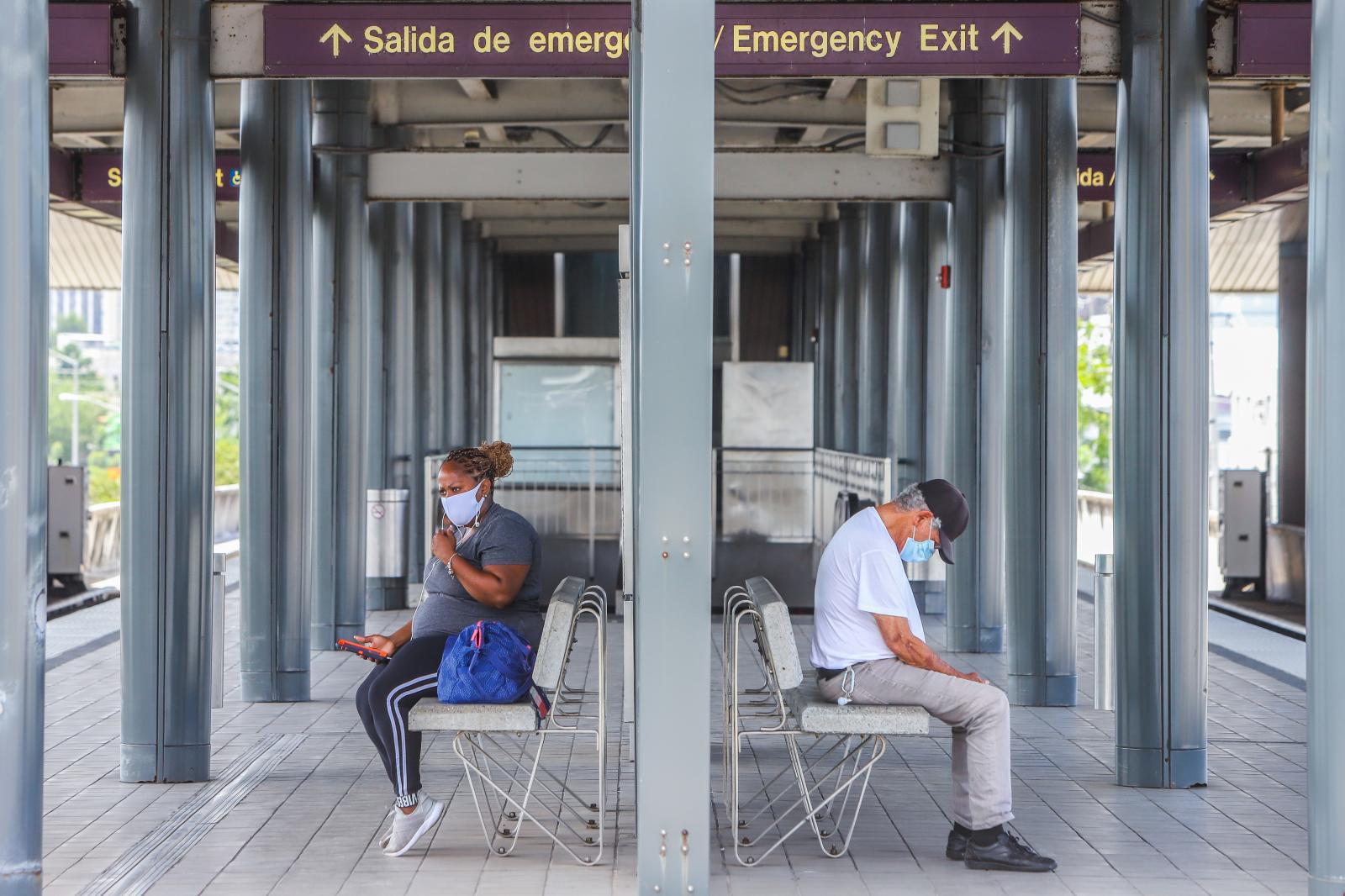 Luego de tres meses fuera de funcionamiento por la pandemia del coronavirus hoy comenzó n a operar el Tren Urbano.