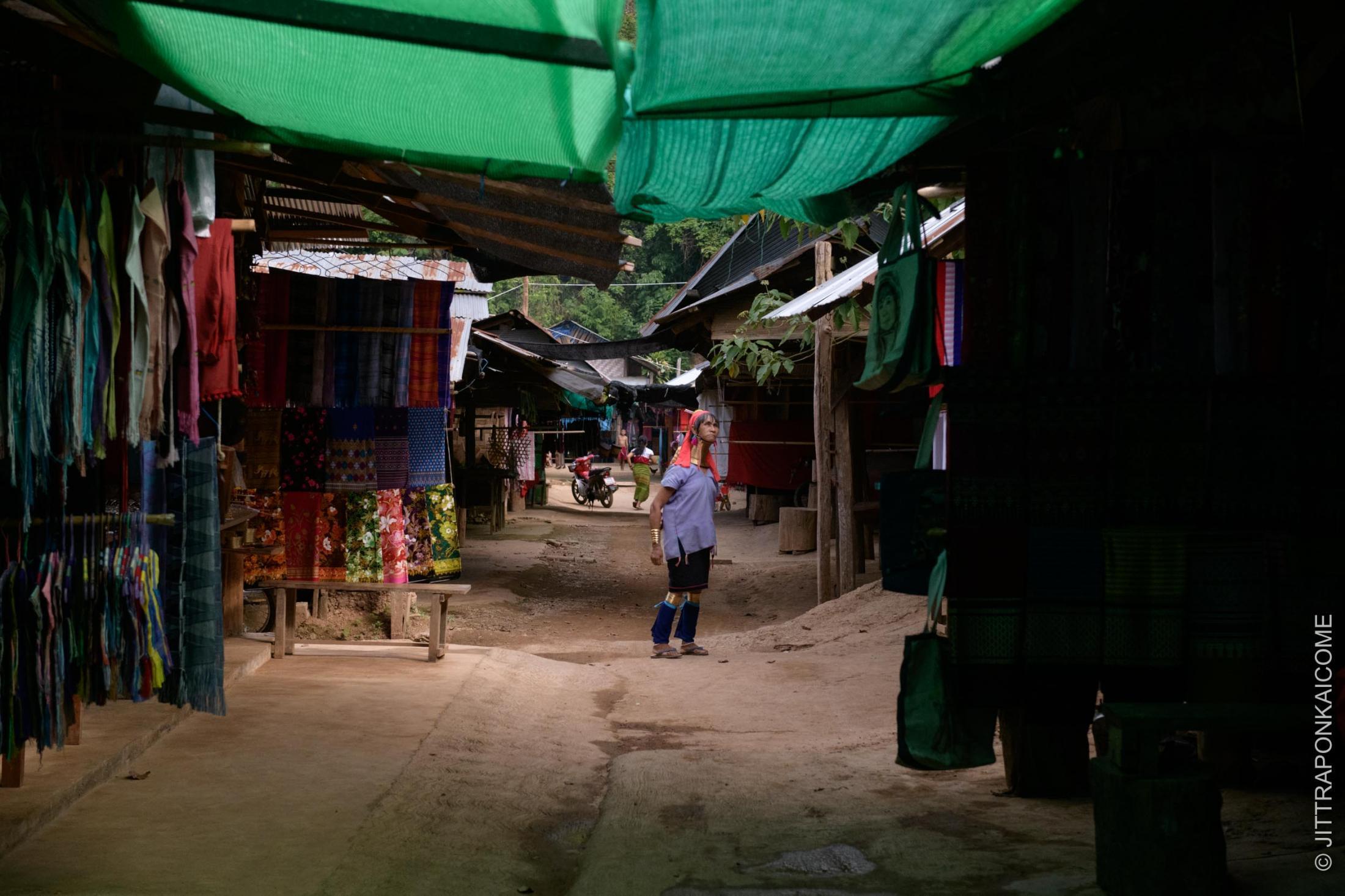 Lack of tourist at Huey Sua Tao, Mae Hong Son, Thailand.