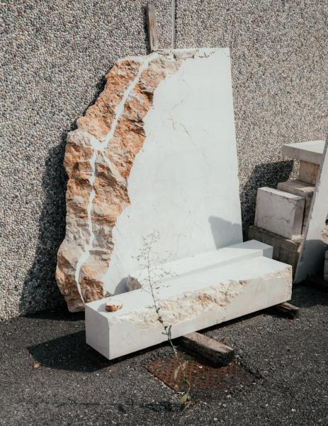 Marble manufacturing in the province of Brescia, Italy