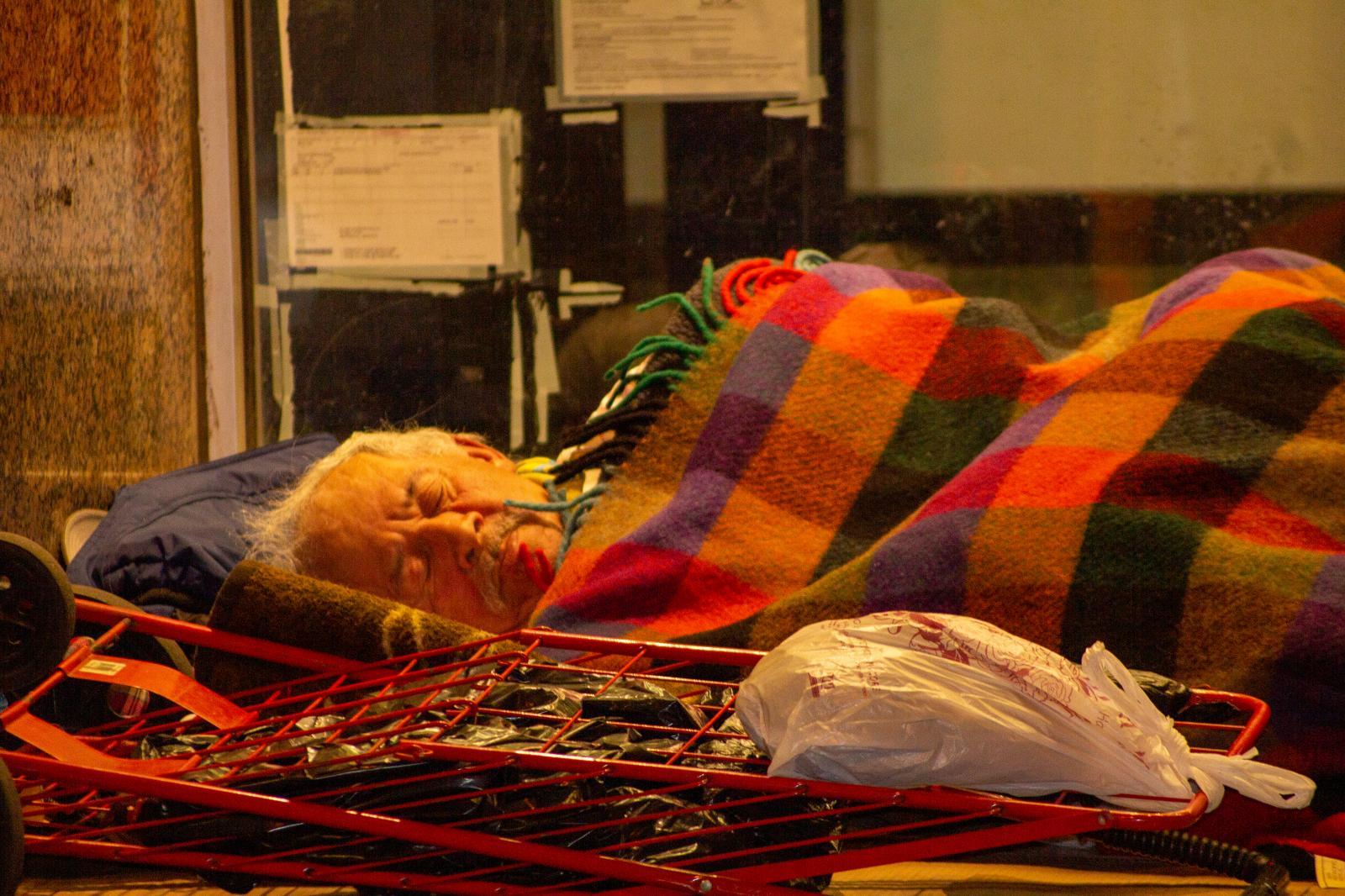 Photography image - Loading Homeless_Man_In_Astoria.jpg
