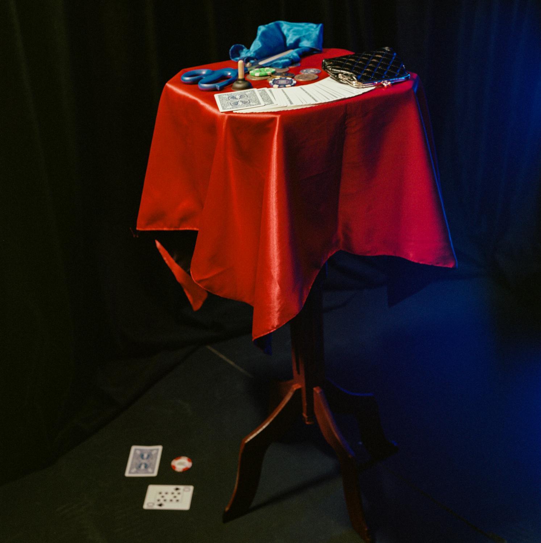 Ozgur's magic table.